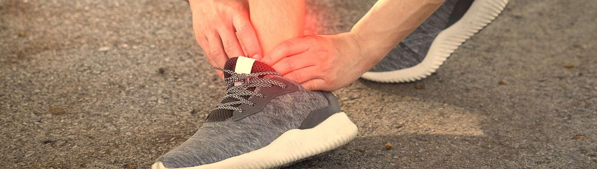 Distorsione della caviglia: come valutarla e come affrontarla
