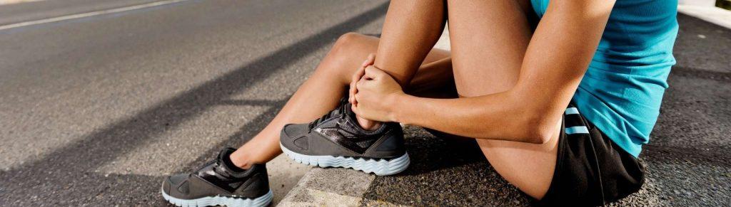 distorsione della caviglia